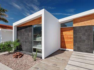 Imativa Arquitectos Casas modernas: Ideas, diseños y decoración Madera Blanco