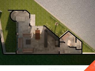 CÉRVOL Casas de estilo minimalista