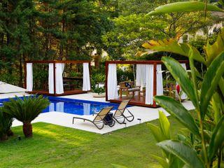PROJETO RESIDENCIAL - ALPHAVILLE RUTE STEDILE INTERIORES Piscinas de jardim
