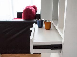 MinBai BedroomBedside tables Wood White