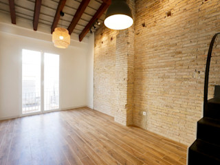Viviendas Centro Histórico Valencia Singularq Architecture Lab Salones de estilo moderno