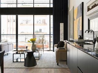 DIEGO REVOLLO ARQUITETURA S/S LTDA. Salas de estilo moderno