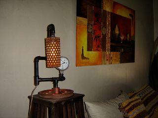 Lampara Estilo Industrial Vintage Con Foco Edison Lamparas Vintage Vieja Eddie ComedoresAccesorios y decoración