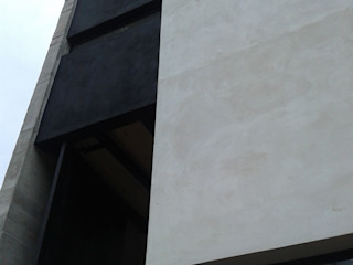 jose m zamora ARQ Minimal style window and door Metal
