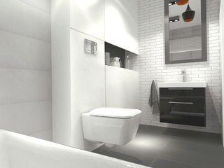 Bright bathroom Arch/tecture Nowoczesna łazienka