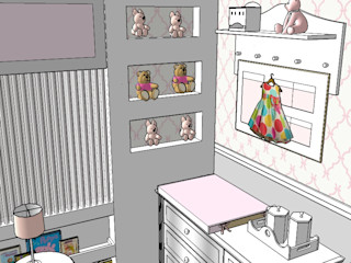 DecaZa Design Classic style bedroom MDF Beige
