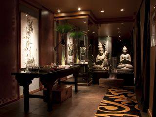 AMOSTRAS ARTEFACTO B&C / CASA COR RUTE STEDILE INTERIORES Hotéis modernos