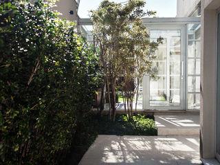 Pinheiros Camila Vicari Arquitetura da Paisagem Modern Terrace