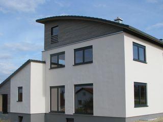 NUR HOLZ Massivholzhaus Ansichten MCB International Timber-Work Limited