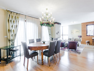 Prog STUDIO DI ARCHITETTURA CATALDI MADONNA Rustic style dining room