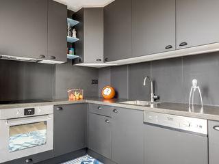 Transition Interior Design Cocinas de estilo moderno