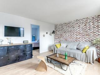 Transition Interior Design Salas de estilo moderno