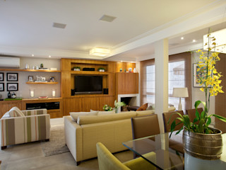 Silvana Lara Nogueira Modern living room
