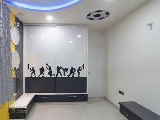 KREATIVE HOUSE Kamar Tidur Modern Kayu Lapis Grey