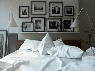homify Dormitorios minimalistas Madera Blanco