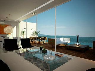 Citlali Villarreal Interiorismo & Diseño Modern living room