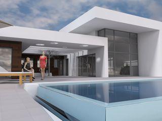 DYOV STUDIO Arquitectura, Concepto Passivhaus Mediterraneo 653 77 38 06 Casas modernas Blanco