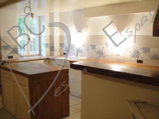 ABC Design d'Espace Cocinas de estilo rústico