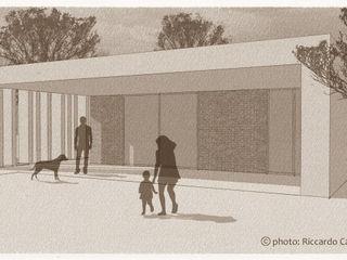 Villa privata unifamiliare Riccardo Cazzaniga Architetto Case in stile minimalista