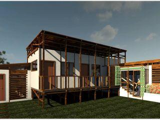 ESCALA21 Rustic style house