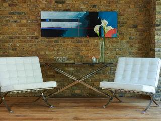 Mews House Notting Hill Yohan May Design Modern Koridor, Hol & Merdivenler