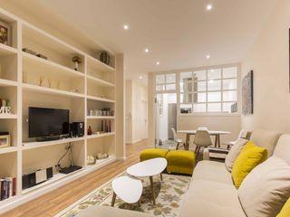 GESTION INTEGRAL DE PROYECTOS DEL NOROESTE S.L. 现代客厅設計點子、靈感 & 圖片