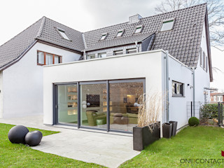 ONE!CONTACT - Planungsbüro GmbH Casas modernas: Ideas, imágenes y decoración Blanco