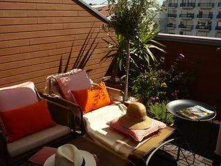 Kohde Balkon, Beranda & Teras Modern