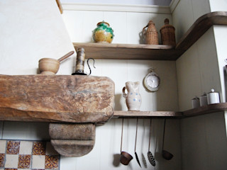 Porte del Passato Cocinas de estilo rústico