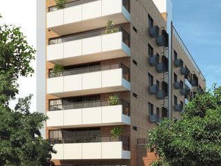 EDIFÍCIO ALTO SOROCABA | Botafogo - Rio de Janeiro Tato Bittencourt Arquitetos Associados Casas modernas