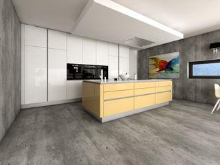 J.Dias КухняШафи і полиці MDF Жовтий