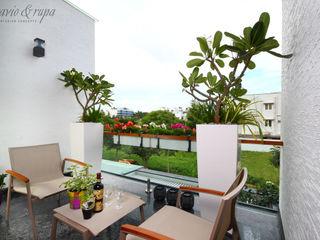 Savio and Rupa Interior Concepts Balcones y terrazasMuebles