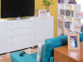 Idea Interior Sala multimediaMobiliario Aglomerado Blanco