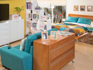Idea Interior DormitoriosCamas y cabeceras Madera Multicolor