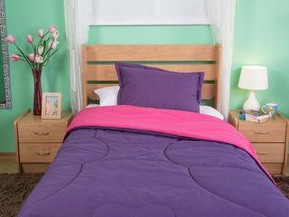 Idea Interior DormitoriosCamas y cabeceras Aglomerado Morado/Violeta