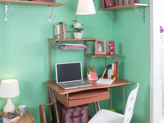 Idea Interior EstudioEscritorios Aglomerado Acabado en madera