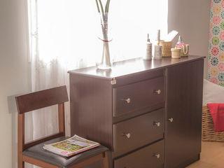 Idea Interior DormitoriosCamas y cabeceras Aglomerado