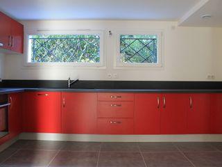 Création d'une cuisine dans un ancien garage Deco-Daix