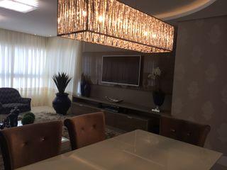 KOSH Arquitetura & Interiores Modern living room
