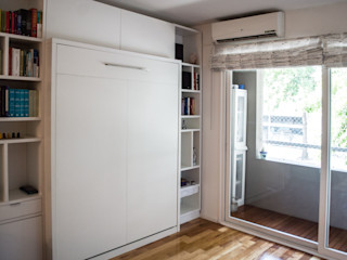 MinBai Living roomShelves Wood White