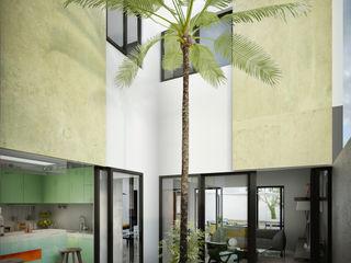 mousa / Inspiración Arquitectónica Jardines de estilo moderno
