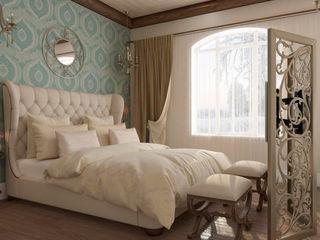 Студия дизайна Дарьи Одарюк Mediterranean style bedroom Multicolored