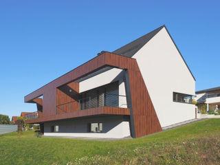 Doppelhaus Ziegelleite Fichtner Gruber Architekten Moderne Häuser