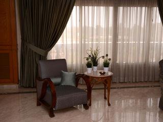 Arte Decò Apartment in Cairo Tania Mariani Architecture & Interiors Soggiorno classico Legno Verde