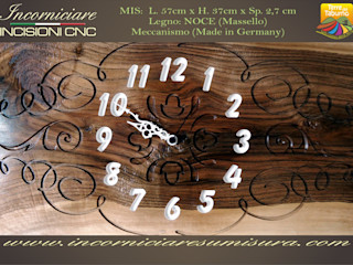 INCORNICIARE Gospodarstwo domoweAkcesoria i dekoracje Lite drewno Brązowy