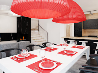 Ale design Grzegorz Grzywacz Minimalist dining room
