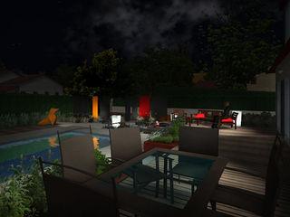 Jardin de couleur Anthemis Bureau d'Etude Paysage Jardin moderne