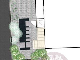 Jardin d'eau Anthemis Bureau d'Etude Paysage Jardin moderne