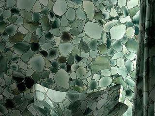 Green Jade Bathroom, Hong Kong ShellShock Designs Asian style bathroom Stone Green