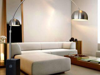 Skapetze Lichtmacher Living roomLighting Marble Metallic/Silver
